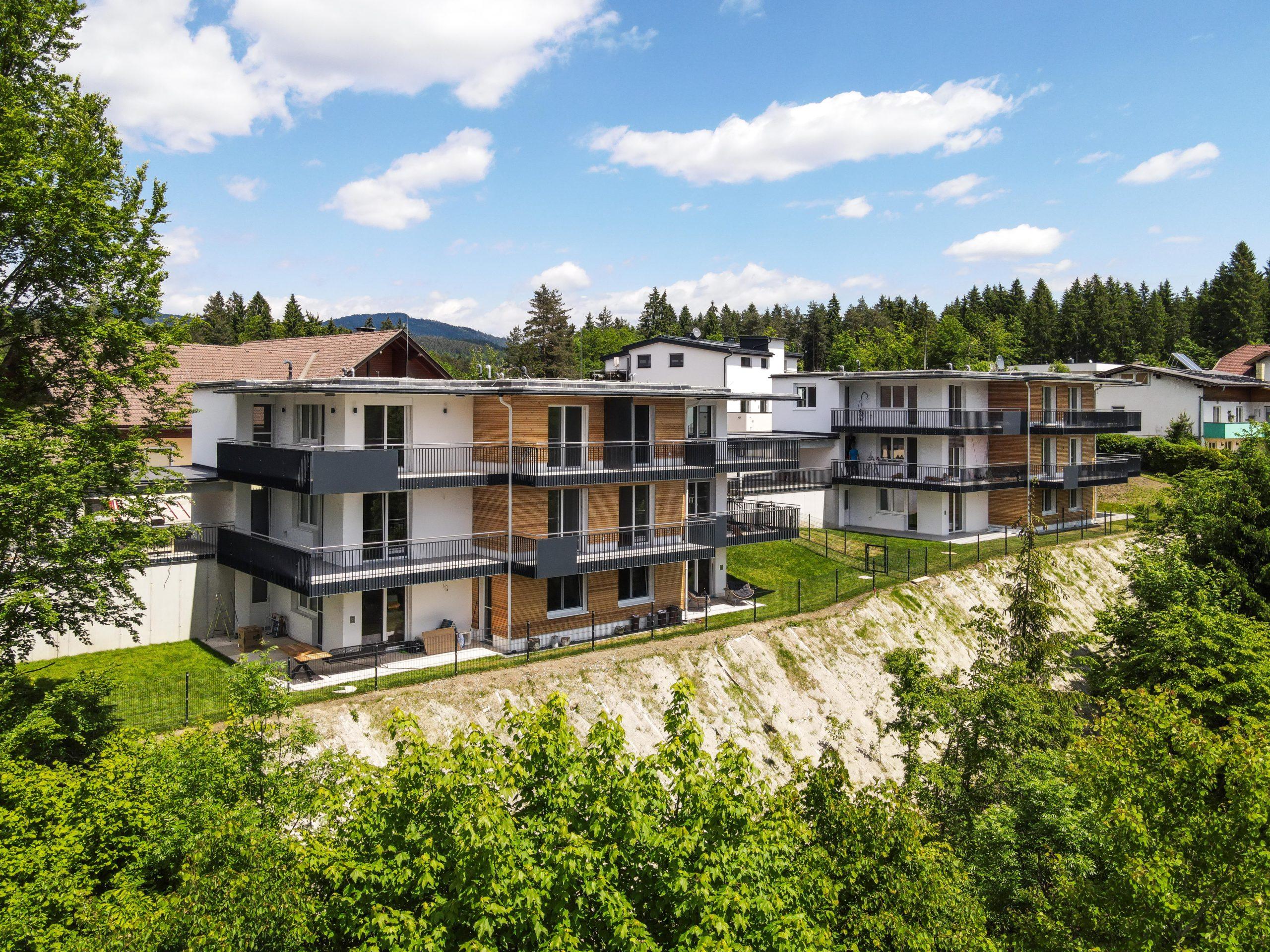 Wohnen in Velden / Karawankenblick – See & Berge – Verkauft